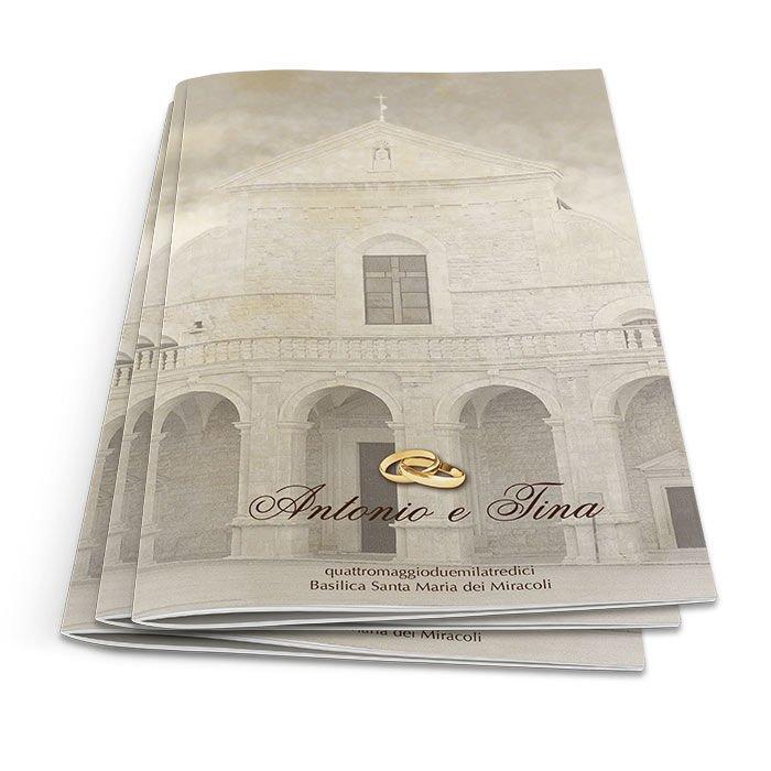Libretto Matrimonio In Word : Libretti messa matrimonio personalizzabili stampe per