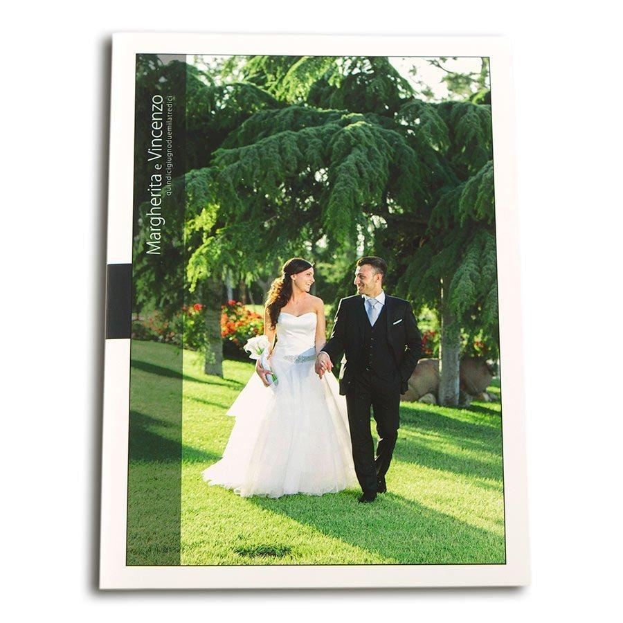 cartoncino portafoto nozze