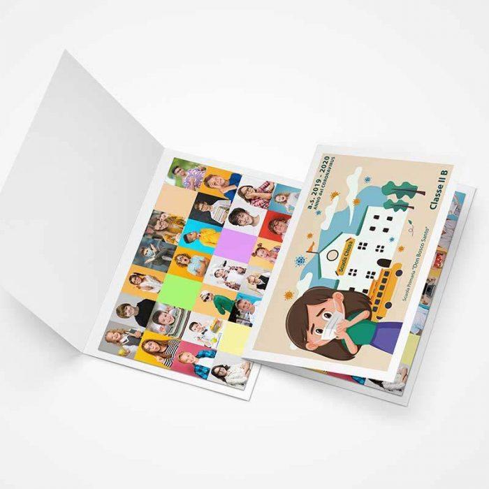 cartoncino portafoto di classe