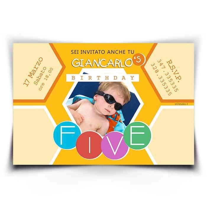 Preferenza Inviti compleanno bimbi - Stampe per fotografi MP94