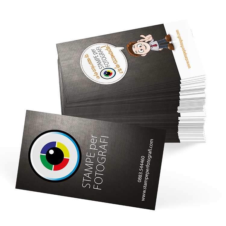 biglietti da visita a colori