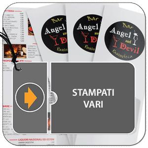 stampati volantini flyer cartoncini porta foto di classe, nascita, scuola calcio
