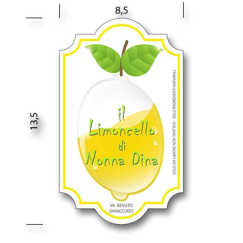 Amato Etichette adesive personalizzate - per liquori fatti in casa  DQ62