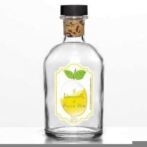 etichetta per bottiglia