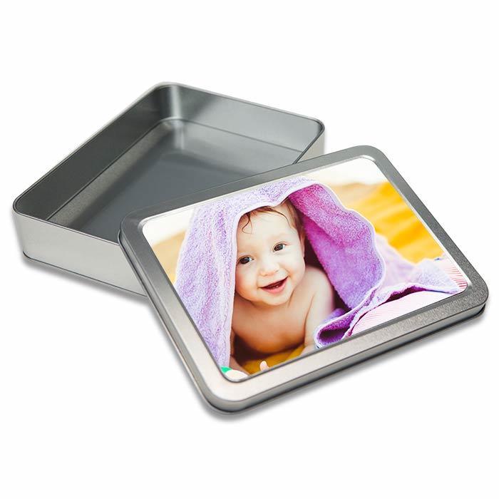 scatola personalizzata metallica