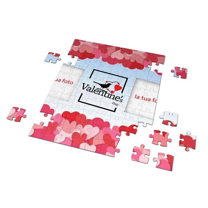 Puzzle San Valentino con foto