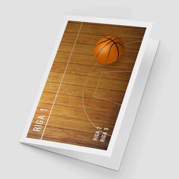 Cartoncino portafoto basket pallacanestro