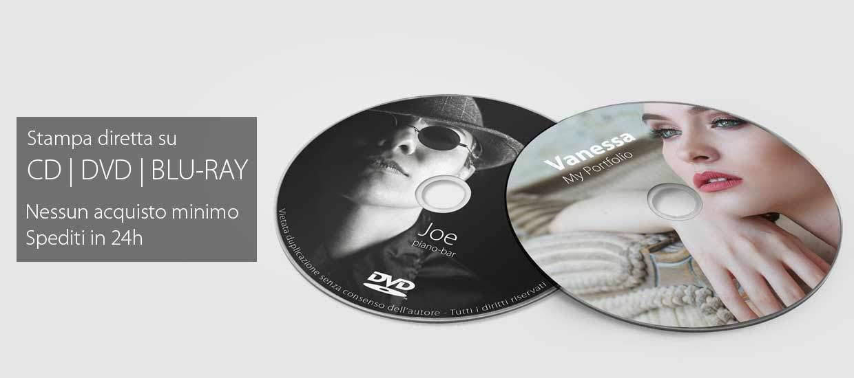 stampa diretta su cd dvd blr-ray