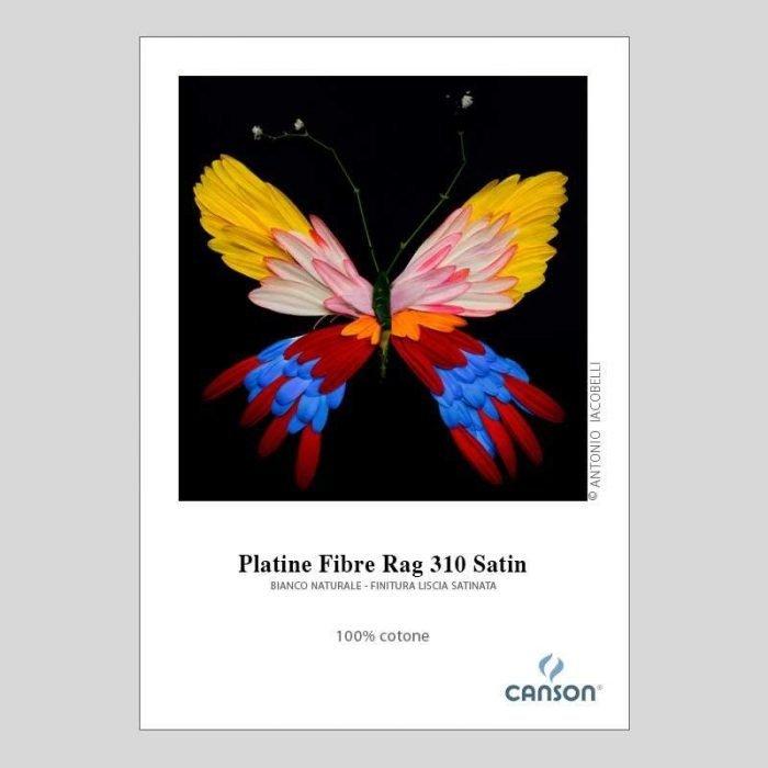 Stampa Fine Art Canson Infinity Platine Fiber Rag 310