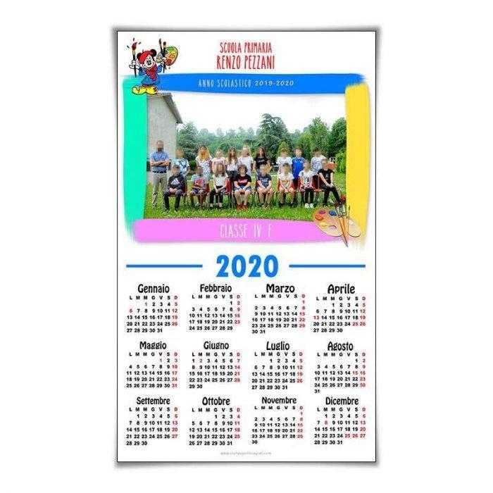 Calendario Personalizzato Scuola