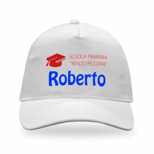 cappellino con nome