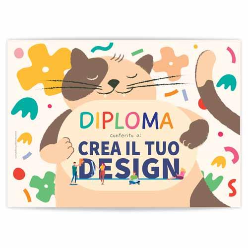 diploma per bambini personalizzabili