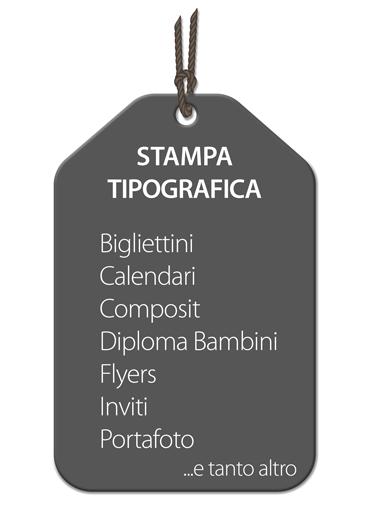 STAMPA TIPOGRAFICA PERSONALIZZABILE