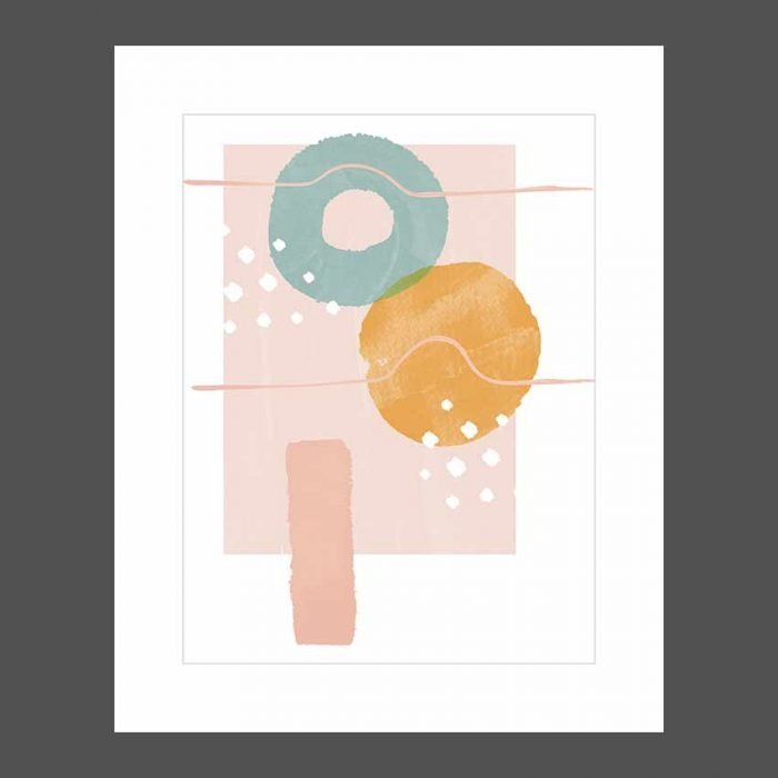 Easy watercolor stampe d'arredo moderno