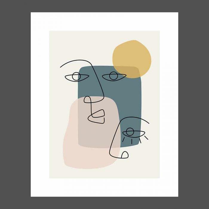 Line Art 001 stampa arredo